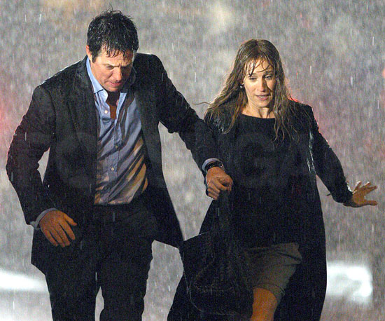 Photo of Sarah Jessica Parker and Hugh Grant Filming Did You Hear About the Morgans? in NYC