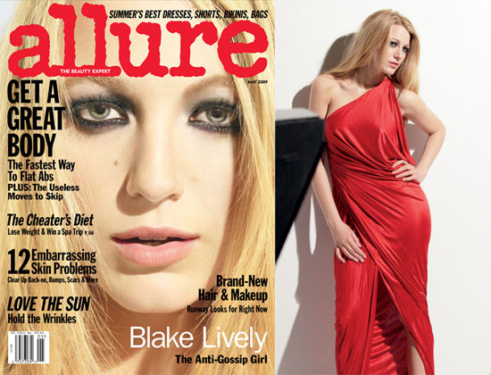 Photos of Blake Lively in Allure Magazine