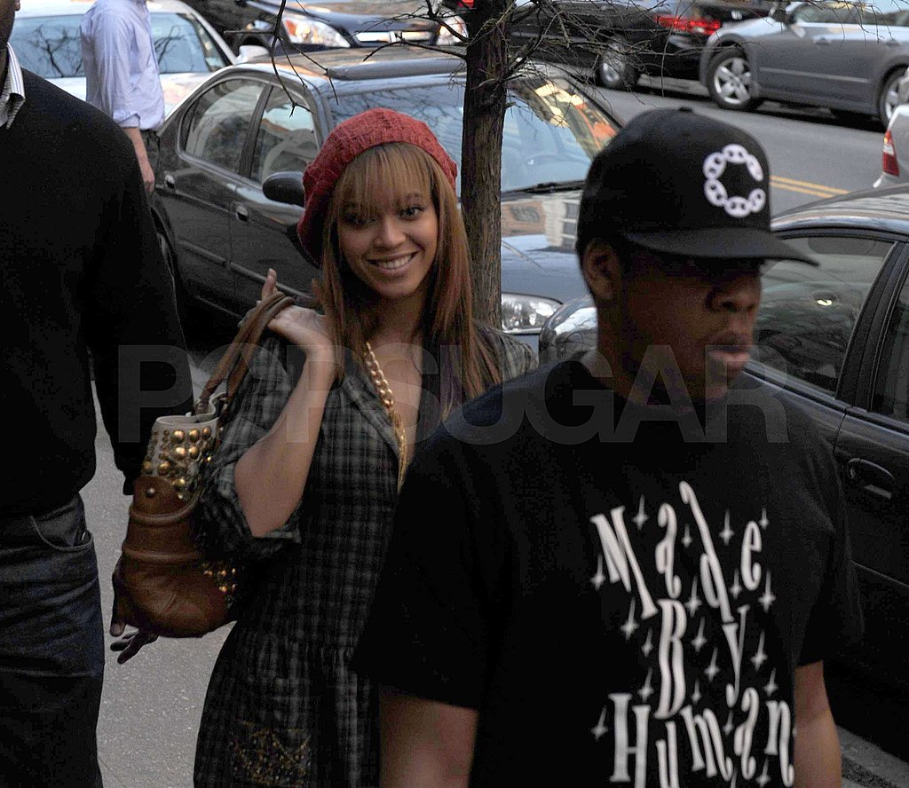 Jay-Z and Beyonce in New York