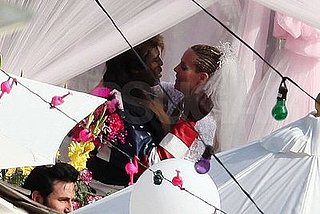 Heidi and Seal Throw a Malibu White Trash Wedding