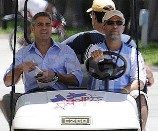 Photo of George Clooney Filming 'Up in the Air' in Miami