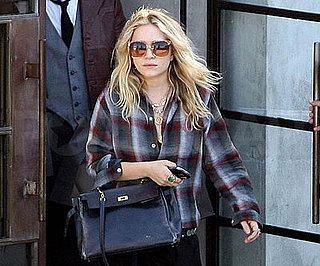 Photo Slide of Mary-Kate Olsen Leaving Maxfield