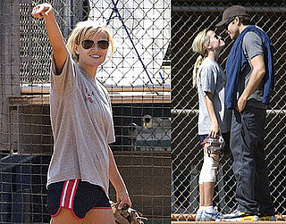 Photos of Reese Witherspoon Playing Softball and Kissing Jake Gyllenhaal
