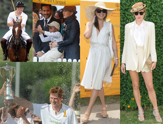 Photos of Madonna, Prince Harry, Marc Jacobs, Chloe Sevigny and Kate Hudson at The 2009 Veuve Clicquot Manhattan Polo Classic