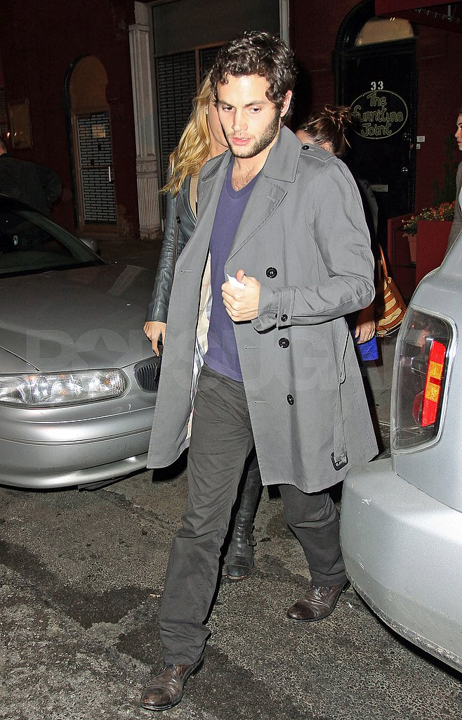 Penn Badgley at the Pants Dinner