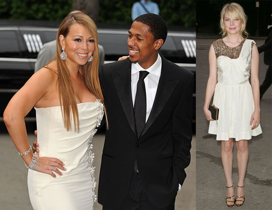 Photos of Mariah Carey, Nick Cannon, and Michelle Williams Out in NYC for the Fresh Air Fund Salute to American Heroes