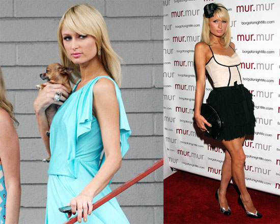 Photos of Paris Hilton In LA, Atlantic City, and More, Paris Hilton Nominated for a Teen Choice Award