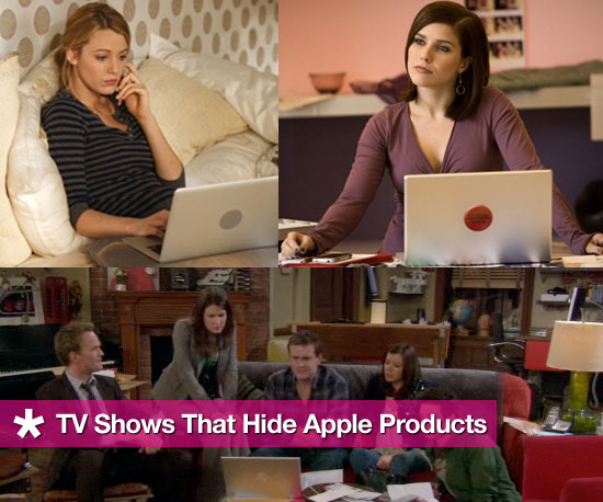 TV Shows That Cover Up Apple Logo on Mac Laptops and Desktop Computers