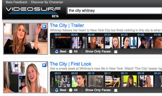 Find Clips In Online Videos With VideoSurf