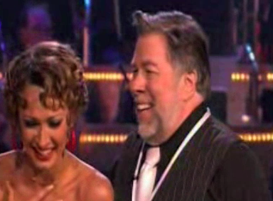Steve Wozniak on Dancing With the Stars Week Three