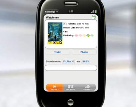 The Palm Pre's Cool Operating System and App Functionality