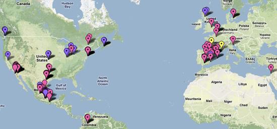 Track the Swine Flu on Google Maps