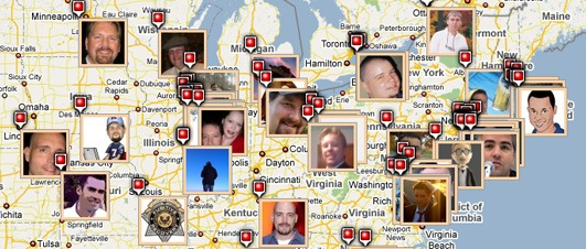 Check Out Your Facebook Friends' Location With Map Motive