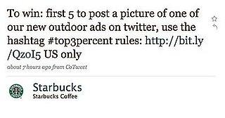 Starbucks Launches Massive Social Network Marketing Blitz