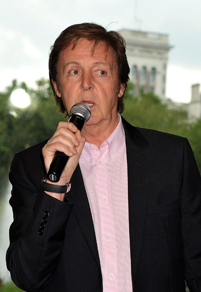 "Paul McCartney & Friends Launch ""Meat Free Mondays"""