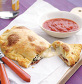 Fast & Easy Dinner: Three-Cheese Calzones