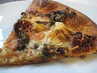 Manchego Pizza With Chorizo and Shrimp