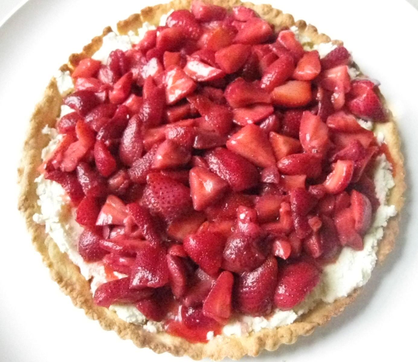Surprise Mom With Strawberry Mascarpone Tart | POPSUGAR Food