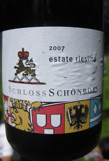 Happy Hour: 2007 Schloss Schönborn Estate Riesling