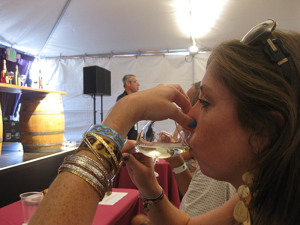 Tasting the wine without a sense of smell really changes it!
