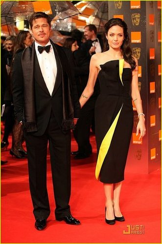Brad & Angie @ BAFTA