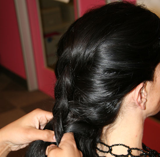 See That Popped-Out Braid?!