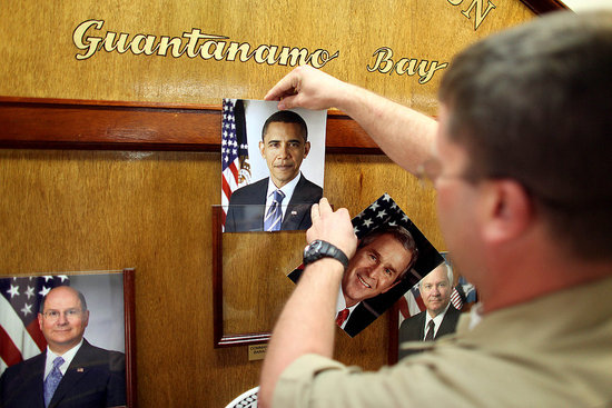Front Page: Guantanamo Abuses May Be Worse Under Obama