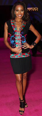 Celeb Style: Crystle Stewart