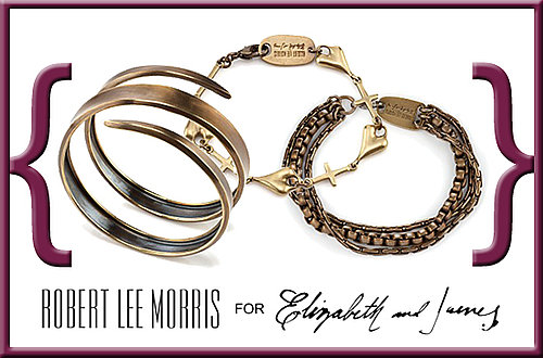 CelebStyle Giveaway: Win the Ultimate Bracelet Collection From Robert Lee Morris For Elizabeth and James