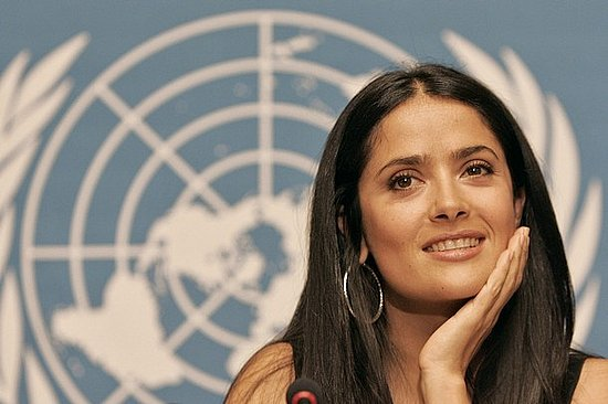 Lil Links: Salma Hayek Is Helping Save Babies and Raising One