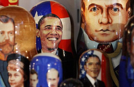 Obama Matryoshka Dolls Sold in Russia
