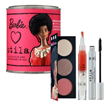 Friday Giveaway! Barbie Loves Stila Paint Can, 1980 Foxy Doll
