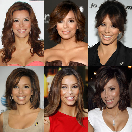 Sugar Shout Out: Eva's Ever-Changing Hairstyles