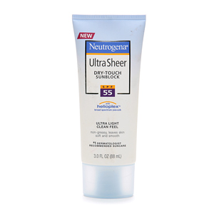 Review of Neutrogena Ultra Sheer Dry Touch Sunblock SPF 55