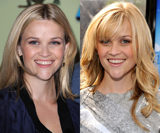 Which hairstyle is better on Reese?