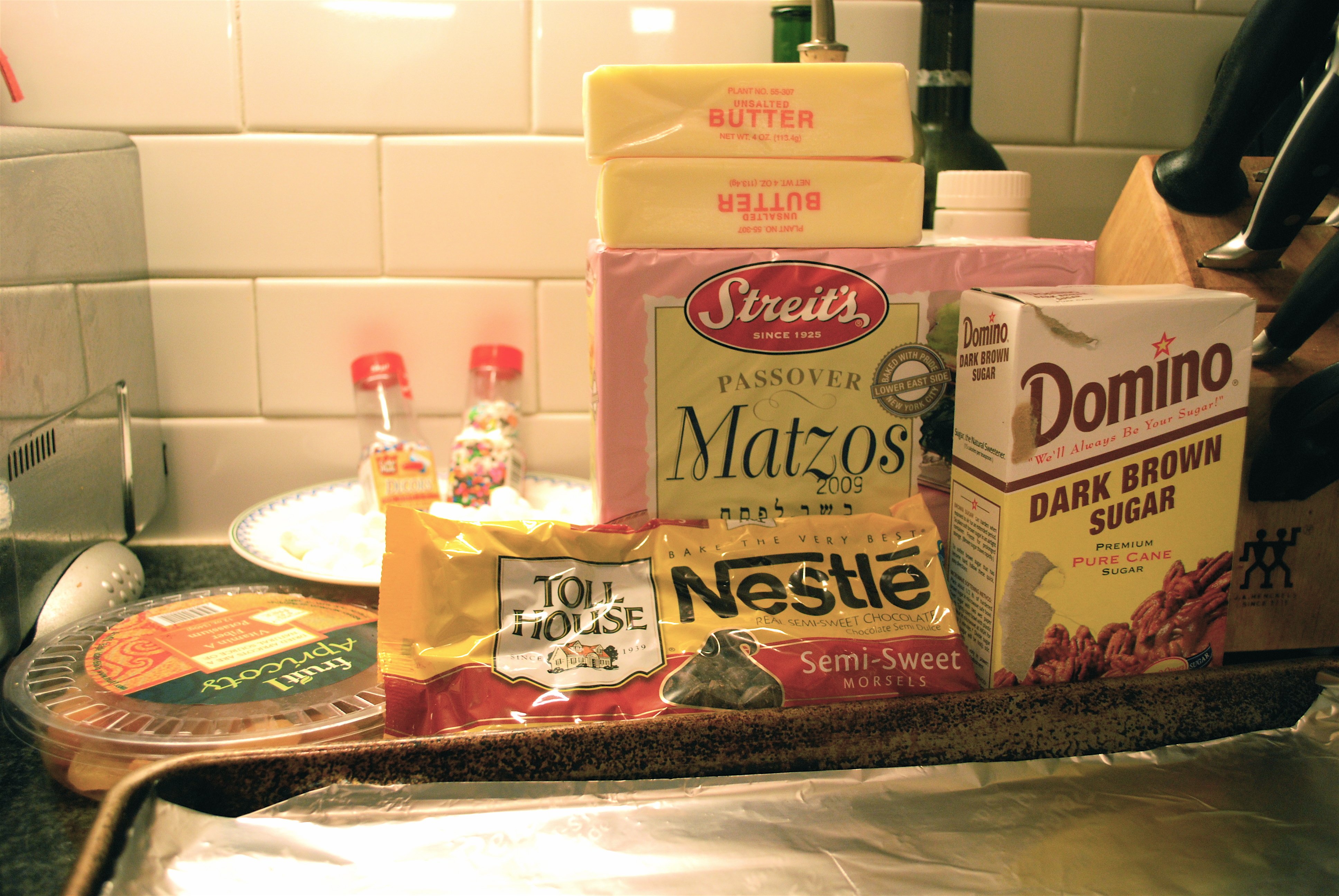Ingredients for our Treat