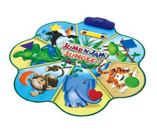 Jump 'n' Jam Jungle Talking Floor Mat