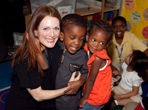 Julianne Moore and Save the Children