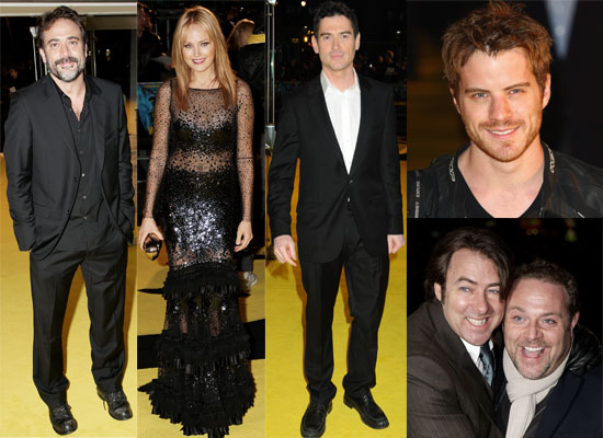 Photos From the London, UK Premiere of Watchman, featuring Malin Ackerman, Billy Crudup, Jonathan Ross, Jeffrey Dean Morgan,