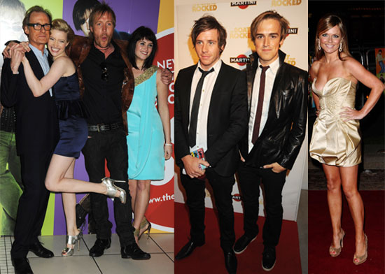 Photos From The Boat That Rocked PRemiere Including Bill Nighy, Rhys Ifans, Gemma Arterton, McFly, Geri Halliwell, Tom Sturridge