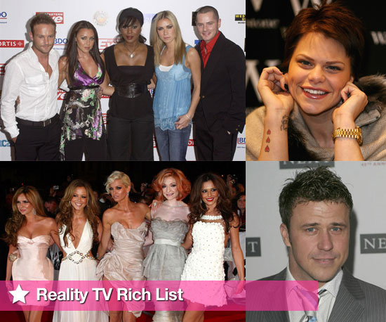 Slideshow of Reality TV Rich List of Highest Earning Reality TV Stars