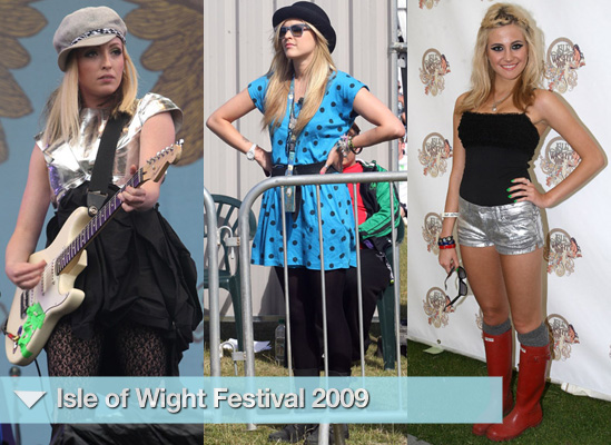 Photos of Celebrities at Isle of Wight Festival 2009
