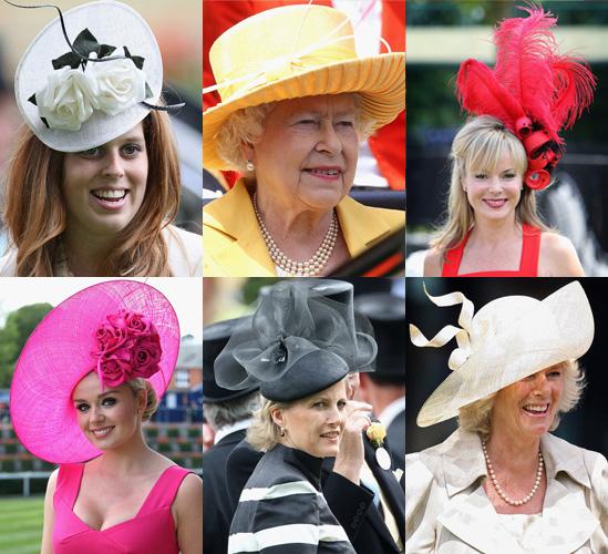 Photos of Hats at Royal Ascot