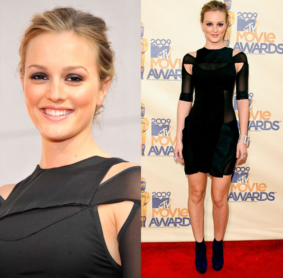 Leighton Meester at the 2009 MTV Movie Awards