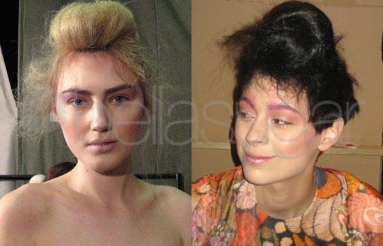 London Fashion Week Makeup 2009-03-03 09:00:00