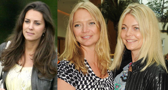 Kate Middleton Hair, Jemma Kidd Hair, Jodie Kidd Hair