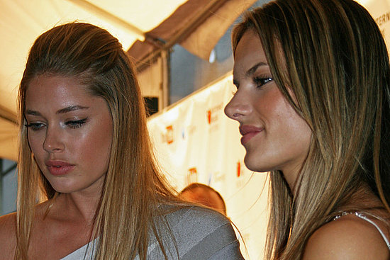 Alessandra and Doutzen Are Webby