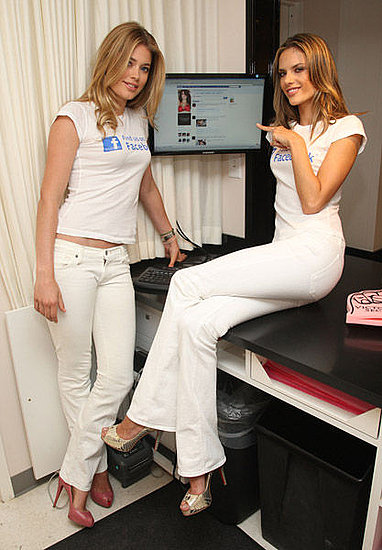 Alessandra and Doutzen For Facebook