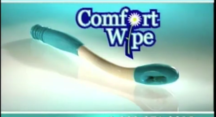 Adrageous: Comfort Wipe, the Toilet Paper on a Stick