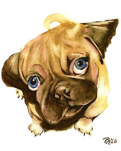 Pug Paintings!!